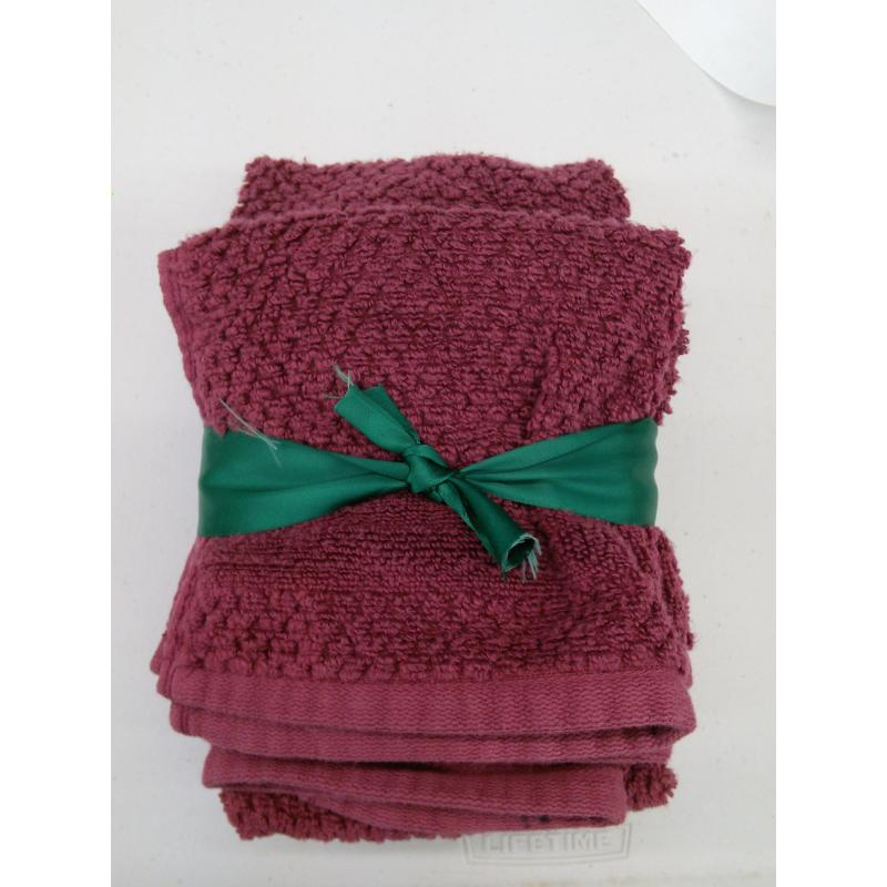Mira Bella Hand Towels & Wash Cloths Cotton 4 Piece Set