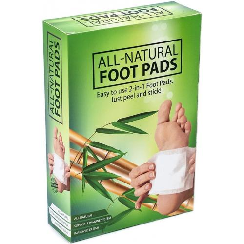 All-Natural Aromatic Cleansing Foot Pad - 10 Pads